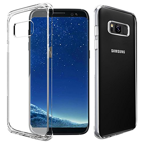 Price comparison product image Galaxy S8 Plus Case, DN-TECHNOLOGY® High Quality Back TPU Gel Case For Samsung Galaxy S8 Plus, 2017 Model [6.2 Inch Display] Galaxy S8 Plus Gel Case,Galaxy S8 Plus Cover, TPU Transparent Plastic Gel Case For S8 Plus [Compatible with Galaxy S8 Plus Screen Protector]