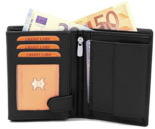 Geldbörse aus echtem Leder von Fa.Volmer Phoenix 3 - 4