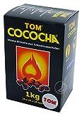 TOM Cococha Grillbriketts aus Kokosnußschalen 1kg