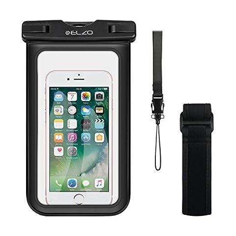 Brassard Etanche Iphone 5s - Elzo Certifiée IPX8 Pochette Étanche, Universelle Housse