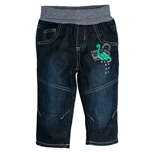 SALT AND PEPPER Baby-Jungen B Jeans Dino, Blau (Original 099), 86