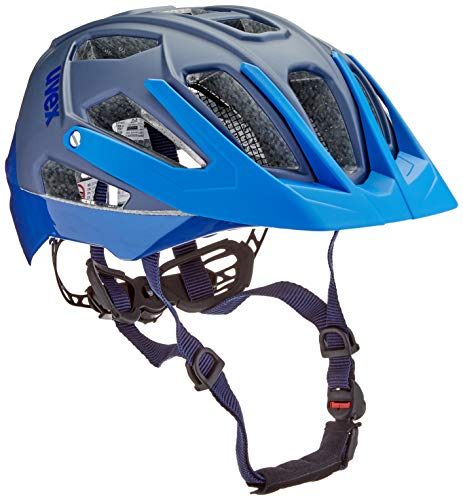 Uvex Unisex - Erwachsene Fahrradhelm, Blau (blue mat), Gr. 56-61 cm