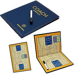 Pizarra táctica magnética baloncesto Baloncesto Coach diagrama Juegos Eco Piel Azul