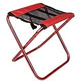 MUTANG Portable Leichte Klappstuhl Camping Hocker Outdoor Klapp Camping Stuhl für Backpacking Wandern Angeln Reisen Garten BBQ mit Trage Sack