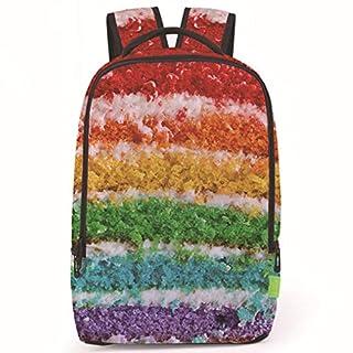 Aibecy Travel Satchel Backpack Rucksack Shoulder Creative Women Men 3D Galaxy Shoulder Student School Portable Bag