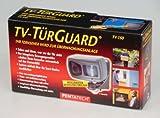 TV-TürGuard mit integriertem Bewegungsmelder - Mit diesem Set wird Ihr Fernseher zur Überwachungsanlage
