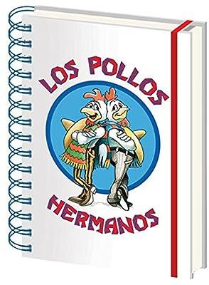 Breaking Bad Los Pollos Hermanos Cahier multicolore