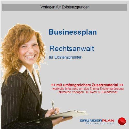 Businessplan Rechtsanwalt für Existenzgründer
