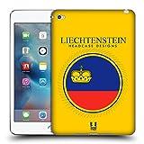 Head Case Designs Drapeau du Liechtenstein Drapeaux - Set 2 Étui Coque en Gel Molle pour Apple iPad Mini 4