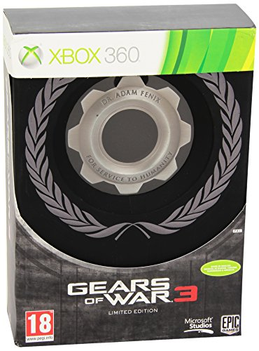Microsoft Gears of War 3 Limited Edition, Xbox 360, NOR - Juego (Xbox 360, NOR, Xbox 360)