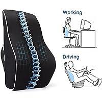 chaise bureau mal de dos coussins lombaires oreillers cuisine maison. Black Bedroom Furniture Sets. Home Design Ideas