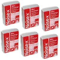 Noise-X: 6er Packung formbare Ohrenstöpsel aus Wachs, mit Baumwollbeschichtung preisvergleich bei billige-tabletten.eu