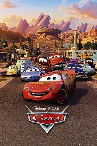 1art1 36585 Cars - One Sheet Poster (91 x 61 cm)