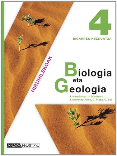 Biologia eta Geologia 4. - 9788467826432