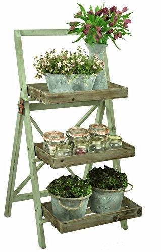 east2eden-vintage-rustic-display-shelf-unit-wood-florist-shop-farm-market-plant-pot-holder-pistachio