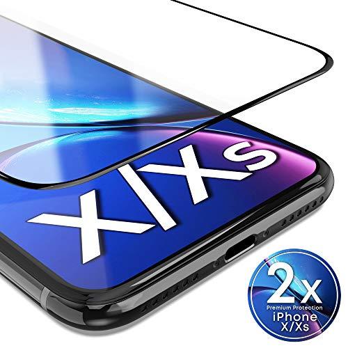 UTECTION 2X Panzerglas für iPhone X/XS (5.8