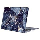 MOSISO Hülle Kompatibel MacBook Air 13 - Ultra Slim Plastik Matt Hartschale Shell Case mit Muster Kompatibel MacBook Air 13 Zoll (A1369 / A1466, 2010-2017 Version), Navy Blau Marmor