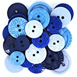 Jesse James 58 Dress It Up Knöpfe Color Me, blau