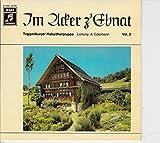 TOGGENBURGER HALSZITHERGRUPPE Leitung: A. Edelmann / Im Acker z´Ebnat / Vol. 2 / EMI # 3 E 016 – 33 520 / Bildhülle
