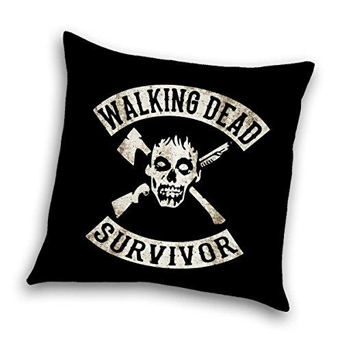 The Walking Dead Dekokissen Survivor, Zierkissen 40x 40 cm