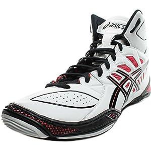 512jSNtS3ML. SS300  - Asics - Mens Sportstyle Dan Gable Ultimate 3 Shoes In White/Black/Red