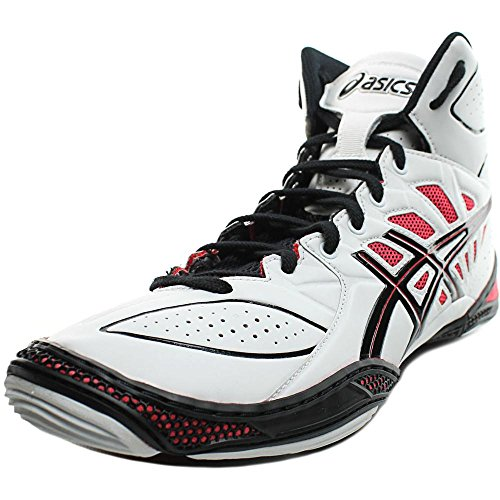512jSNtS3ML. SS500  - ASICS - Mens Sportstyle Dan Gable Ultimate 3 Shoes in White/Black/Red