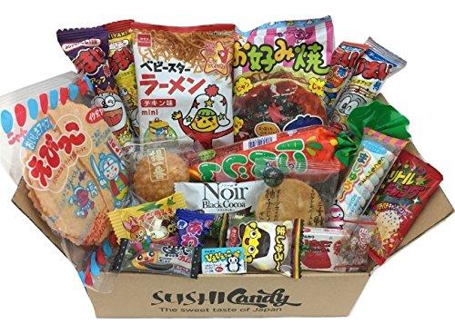 20 Dulces japoneses DAGASHI set regalo con caramelo para los niños width=