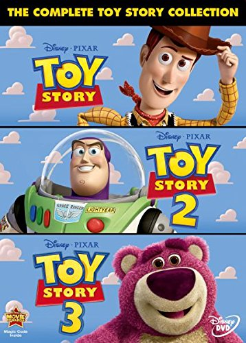 THE COMPLETE TOY STORY COLLECTION (1, 2 and 3 Box set)