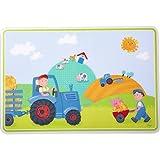 Haba 302822 Kinder-Tischset Traktor