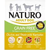 Naturo Wet Dog Food Adult Grain Free Chicken and Potato 400 g, Pack of 10