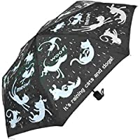 Everyday Raining Cats & Dogs Folding Umbrella