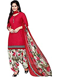 ANNI DESIGNER Women's Crepe Printed Salwer Suit (rudra Colors_Free Size)