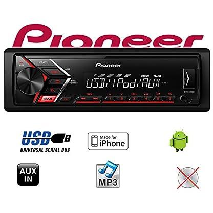 Autoradio-Radio-Pioneer-MVH-S100UI-MP3-USB-Android-iPhone-Einbauzubehr-Einbauset-fr-Skoda-Octavia-1-1U-JUST-SOUND-best-choice-for-caraudio
