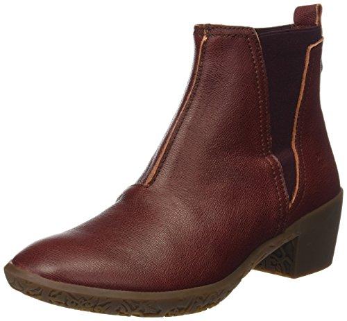 El Naturalista Damen Ng13 Capretto Alhambra Chelsea Boots, Rot (Adobe), 38 EU (Adobe-leder)