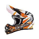 0623S-604 - Oneal 3 Series Shocker Motocross Helmet L Black Orange