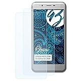 Bruni Schutzfolie für Archos 50 Cobalt Folie, glasklare Displayschutzfolie (2X)