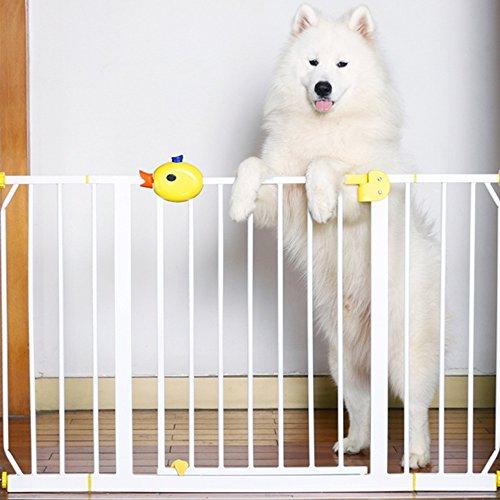 Children safety rails LVZAIXI Eigentlich schließen Sie die Welle Press-fit Sicherheitstür mit Verlängerung (Höhe77cm) (größe : Door Width 141-149CM (+20+45))