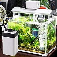 DESPACITO® CT-202 Ultra Silent Air Pump for Aquarium with 2 Air Outlets Noiseless Oxygen Air Pump- Adjustable Air Flow…