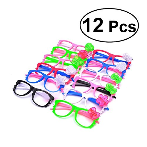Led Party Brille,Leuchten Brillen Party Favors Funkelnde Sonnenbrille, 12 Stück