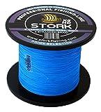 Stork HDx8, 8-Fach geflochtene premium Angelschnur 600m (Blau, 15 lbs / 6.8 kg /...