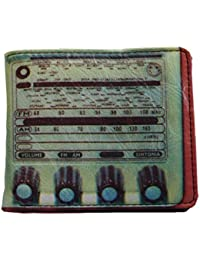 Plan B Retro Vintage Look Radio Bi Fold Mens Wallet