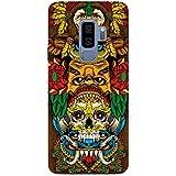 MADANYU Tribal Art Love For Tribal Art Traditional Skull Art Designer Printed Hard Back Shell Case For Samsung S9 Plus