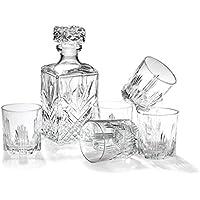 Bormioli Rocco Selecta 7-Piece Whiskey Gift Set [Kitchen] (japan import)