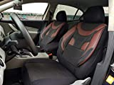 Sitzbezüge k-maniac | Universal schwarz-rot | Autositzbezüge Set Komplett | Autozubehör Innenraum | Auto Zubehör für Frauen und Männer | NO1920836 | Kfz Tuning | Sitzbezug | Sitzschoner
