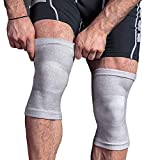 Frokht Sports Knee Support and Brace, Compression Sleeve for Men & Women