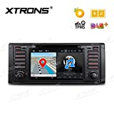 XTRONS® Android 8.0 Auto Stereo DVD-Player Octa Core 4 G RAM 32 G ROM HD Digital Multi-Touchscreen Radio OBD2 DVR Reifendruck Kontrolle für BMW E39 M5 5 Series/7 Series