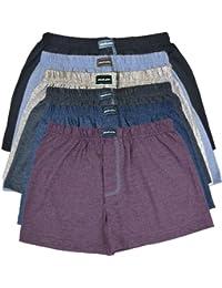 PREIS HIT 6 oder 12 Boxershorts aus Baumwolle in 3 oder 6 coolen Farben Boxershort 10 Pack Sparpack