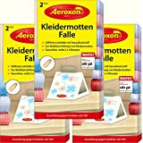 Aeroxon Clothes Moth Trap – Pack of 3 = 3x2 Trap