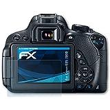 Canon EOS 700D / Rebel T5i Protecteur d'écran - 3 x atFoliX FX-Clear ultra claire Film Protection d'écran