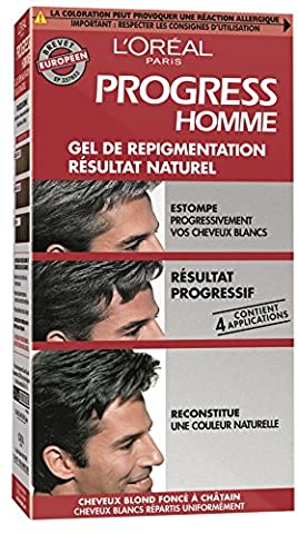 Cheveux Naturel - L'Oréal Paris Progress Homme Gel de Repigmentation